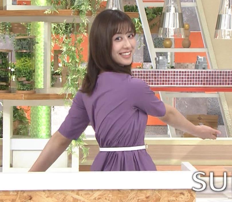 斎藤ちはるアナ ストレッチの横乳キャプ・エロ画像8