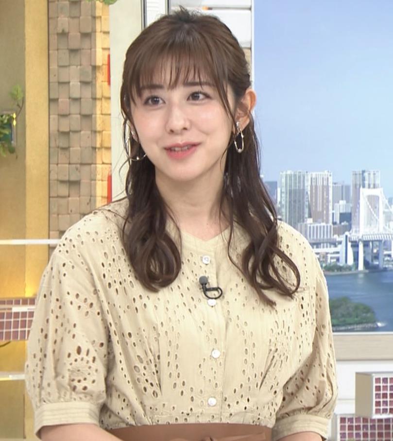 斎藤ちはるアナ 乳画像キャプ・エロ画像3