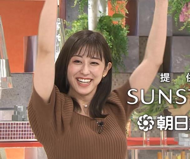 斎藤ちはるアナ ニットおっぱいキャプ・エロ画像5