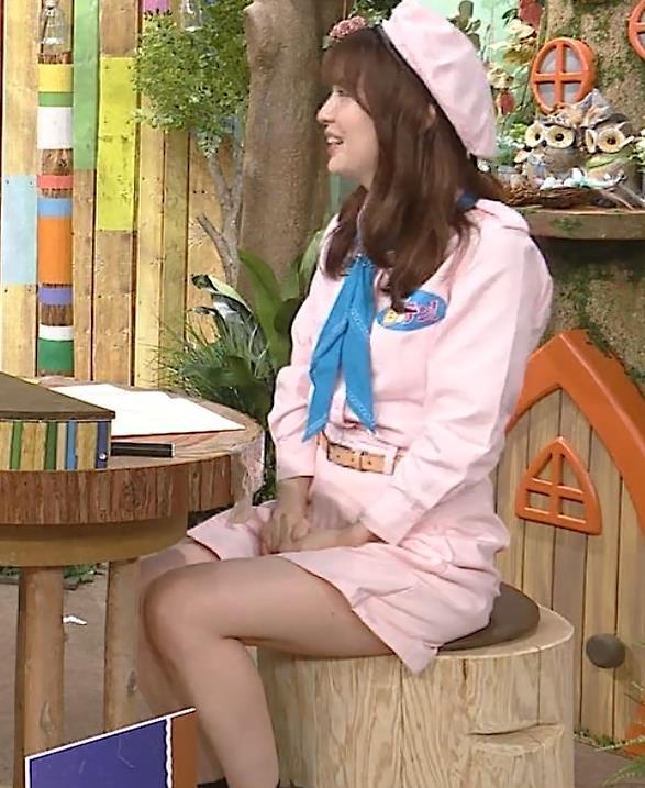佐藤真知子アナ 生太ももキャプ・エロ画像5