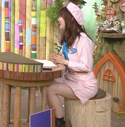 佐藤真知子アナ 生太ももキャプ・エロ画像8