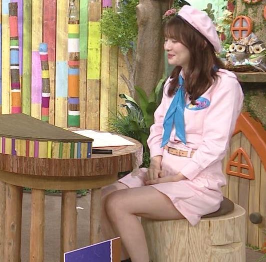 佐藤真知子アナ 生太ももキャプ・エロ画像9