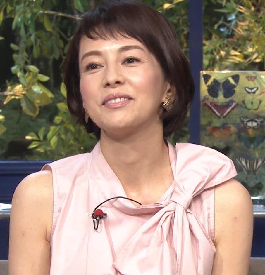 沢口靖子 美人熟女(56歳)キャプ・エロ画像9