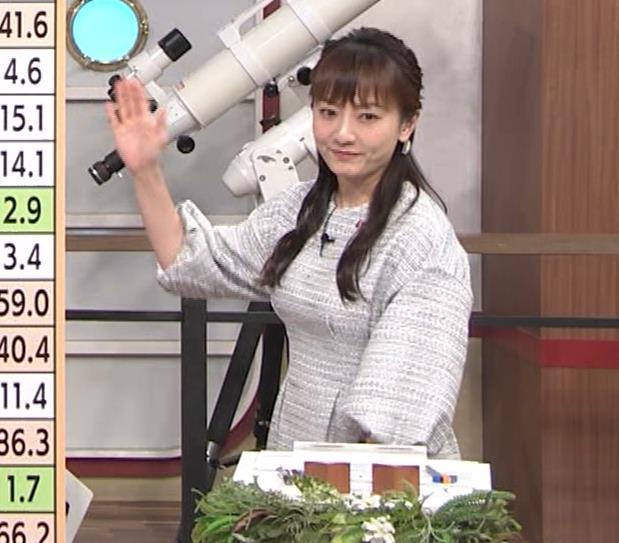 島本真衣アナ 横乳キャプ・エロ画像10