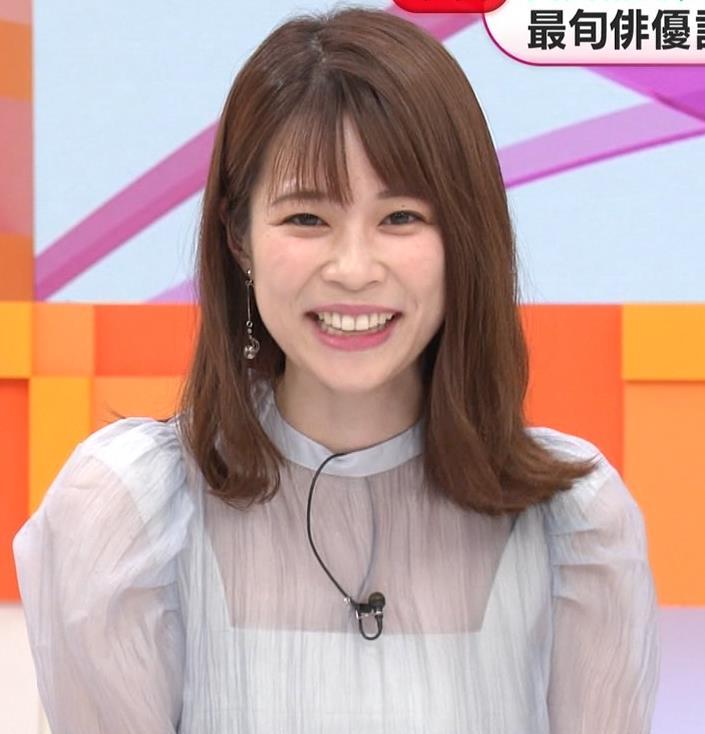 鈴木唯アナ 透け透け衣装キャプ・エロ画像3