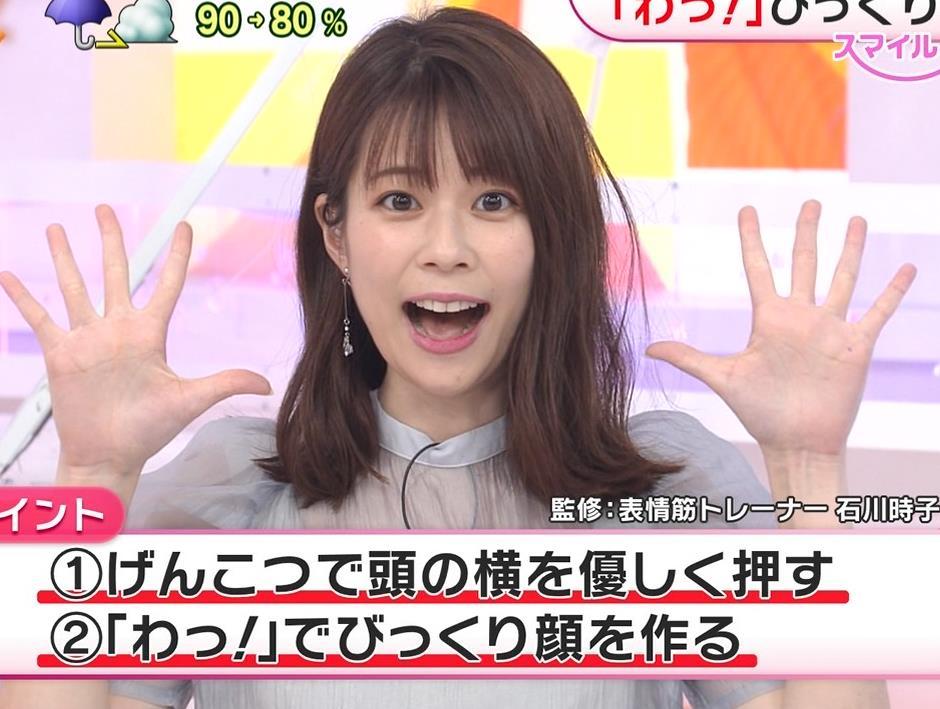 鈴木唯アナ 透け透け衣装キャプ・エロ画像5