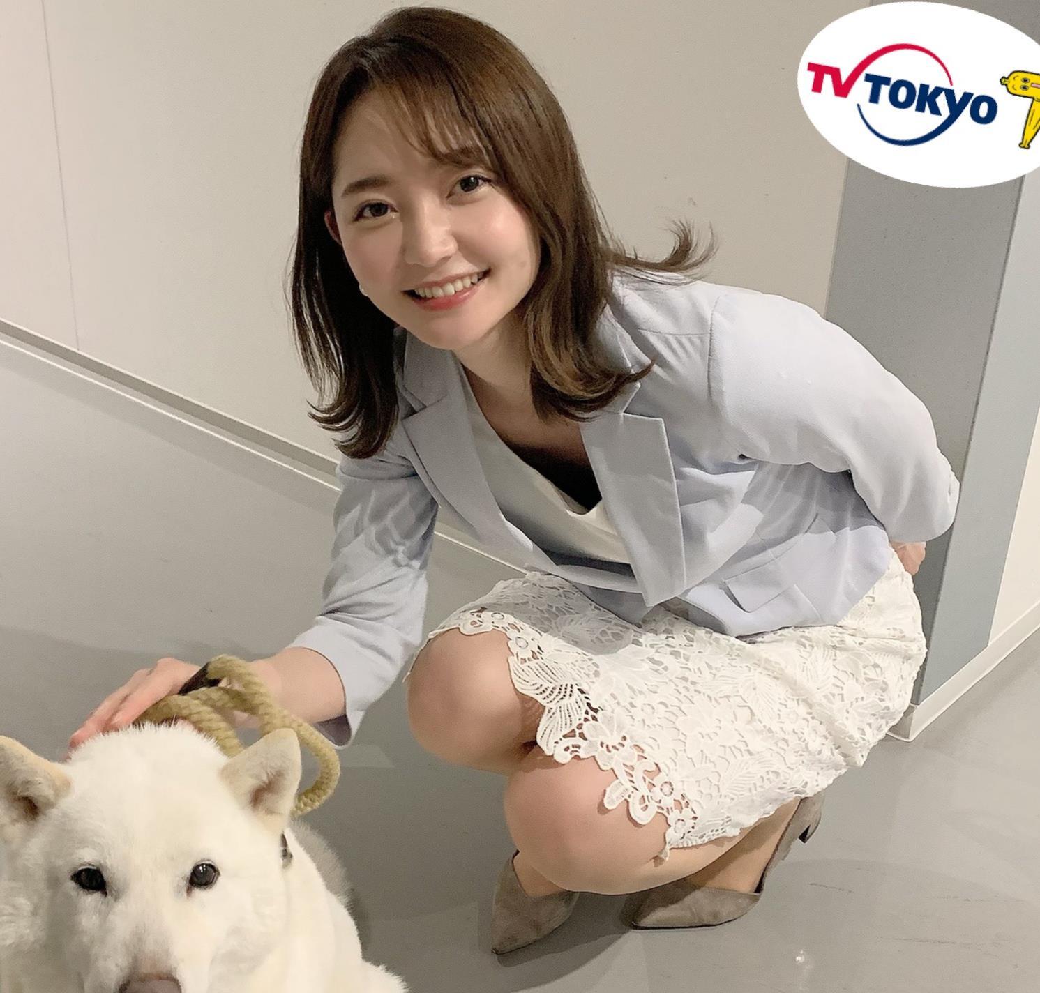竹﨑由佳アナ テレ東公式Twitterが結構エロいキャプ・エロ画像