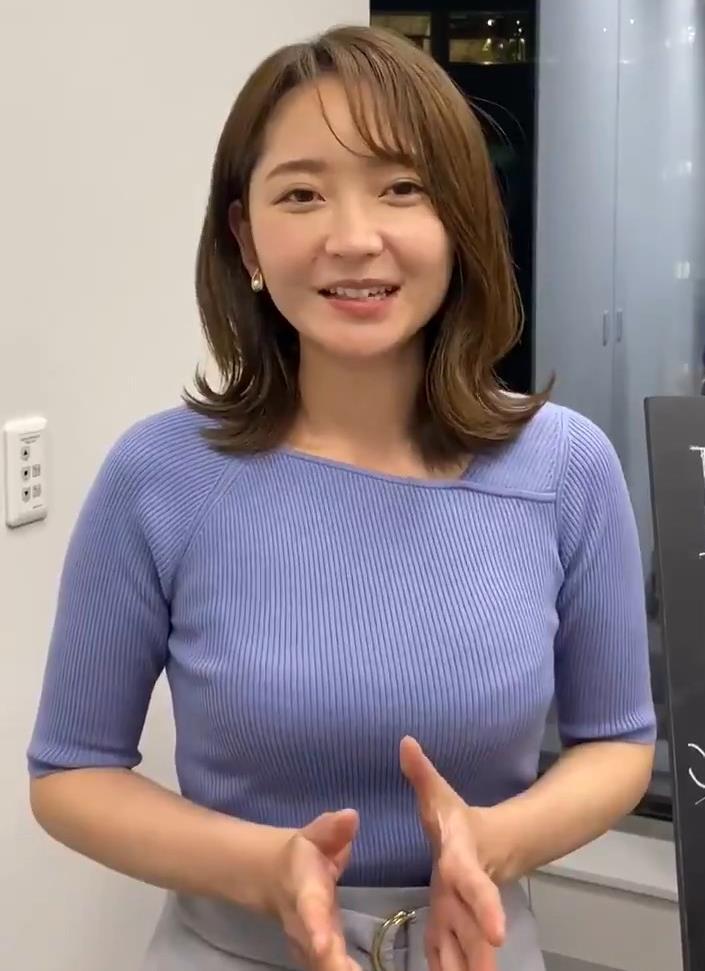 竹﨑由佳アナ テレ東公式Twitterが結構エロいキャプ・エロ画像13
