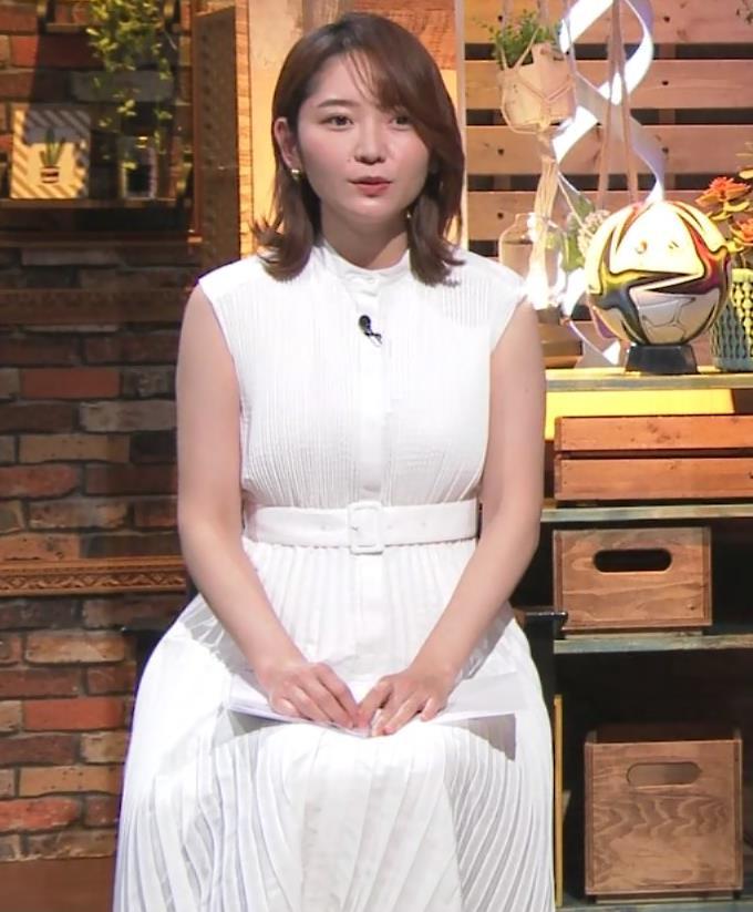 竹崎由佳アナ ちょっとむっちりノースリーブキャプ・エロ画像