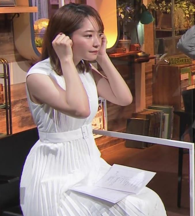 竹崎由佳アナ ちょっとむっちりノースリーブキャプ・エロ画像7