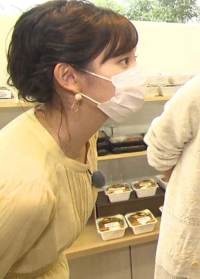 田中瞳アナ ワンピースの横乳キャプ・エロ画像5