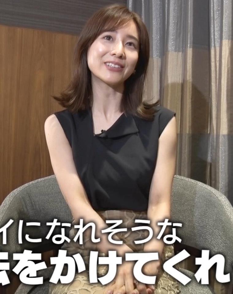 田中みな実 ノースリーブ姿キャプ・エロ画像3