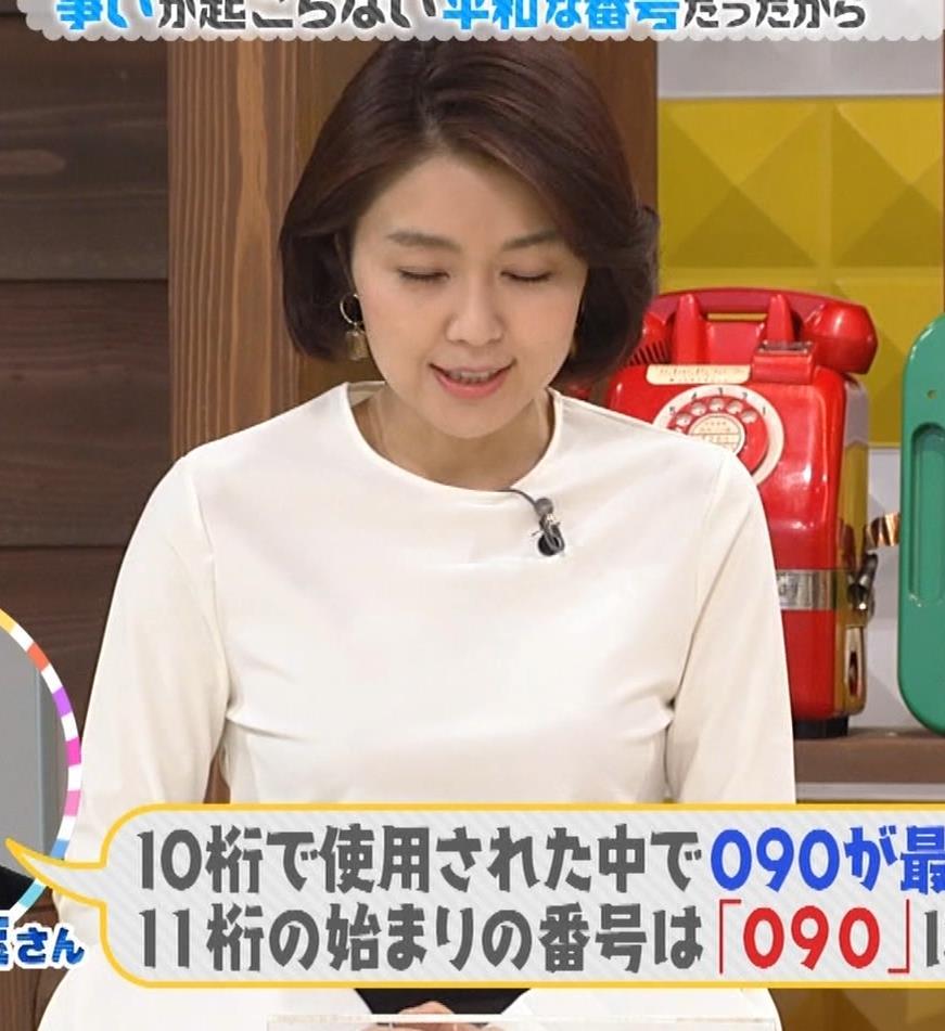 塚原愛アナ おっぱいパッツンキャプ・エロ画像2