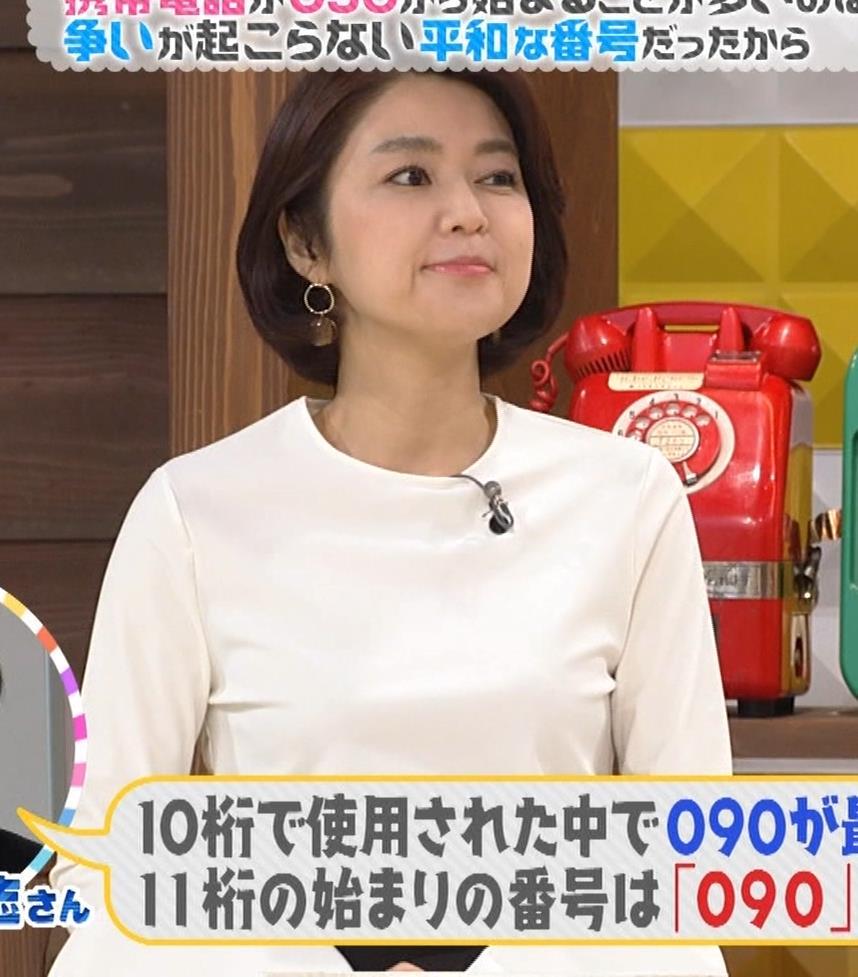 塚原愛アナ おっぱいパッツンキャプ・エロ画像3