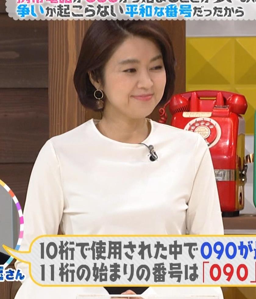 塚原愛アナ おっぱいパッツンキャプ・エロ画像4