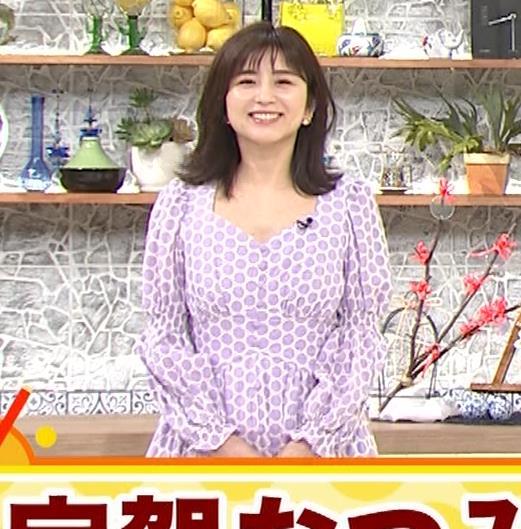 宇賀なつみ 胸元が開いた服がエロいキャプ・エロ画像5