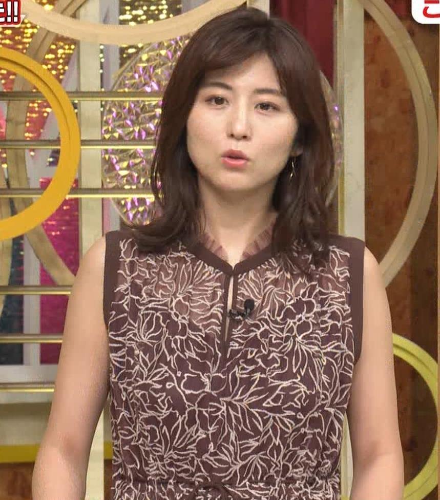 宇賀なつみ セクシー透けノースリーブキャプ・エロ画像3
