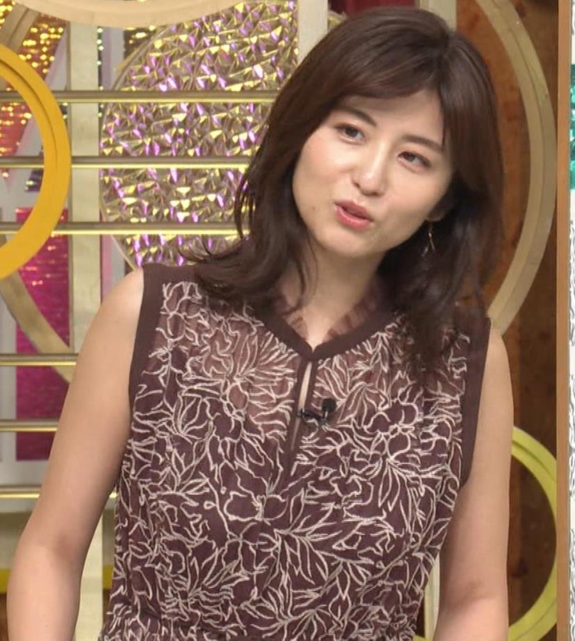 宇賀なつみ セクシー透けノースリーブキャプ・エロ画像4