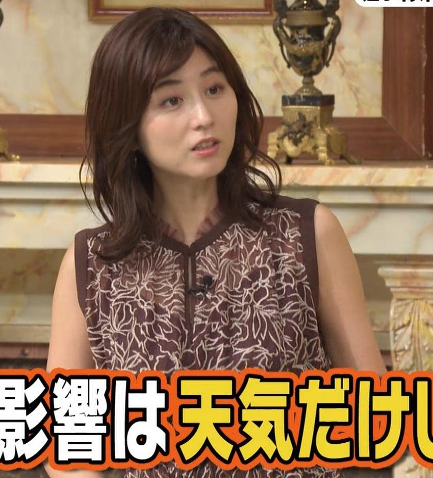宇賀なつみ セクシー透けノースリーブキャプ・エロ画像6