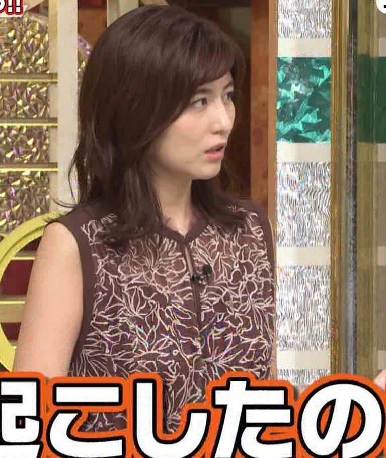 宇賀なつみ セクシー透けノースリーブキャプ・エロ画像8