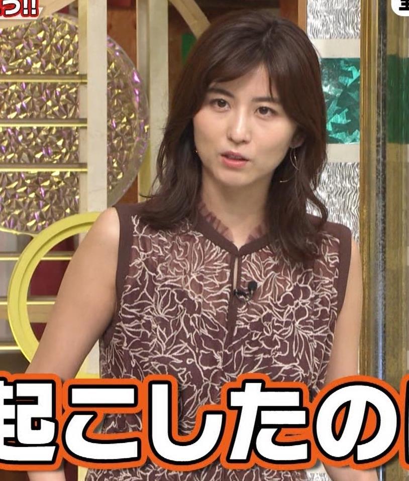 宇賀なつみ セクシー透けノースリーブキャプ・エロ画像10