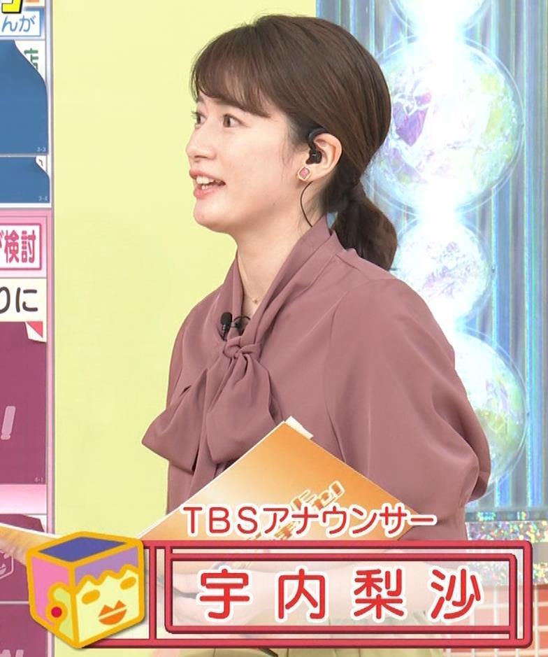 宇内梨沙アナ パンツスタイルのお尻キャプ・エロ画像3