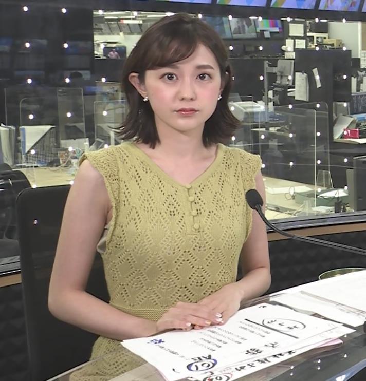 若林有子アナ ちょっとワキエロキャプ・エロ画像2