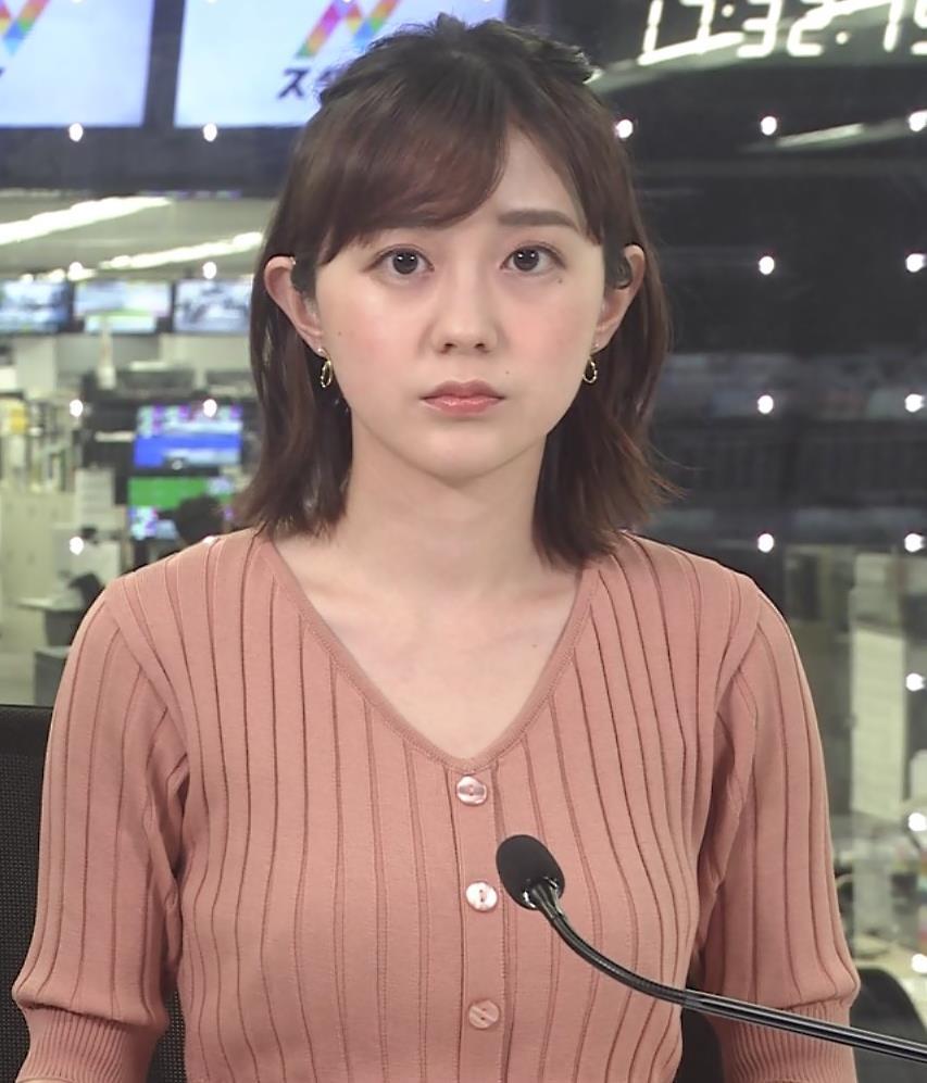 若林有子アナ これはおっぱいが大きそうキャプ・エロ画像3
