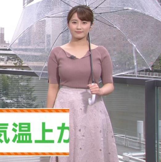 鷲尾千尋アナ 関西の巨乳アナキャプ・エロ画像