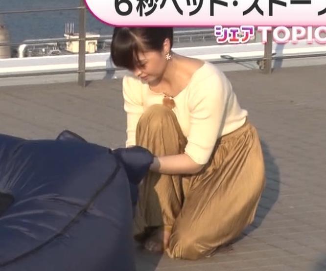 渡辺渚アナ ニットおっぱいキャプ・エロ画像5