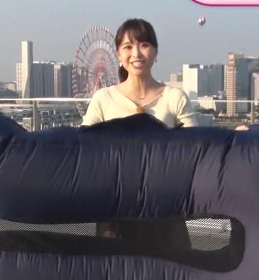 渡辺渚アナ ニットおっぱいキャプ・エロ画像6