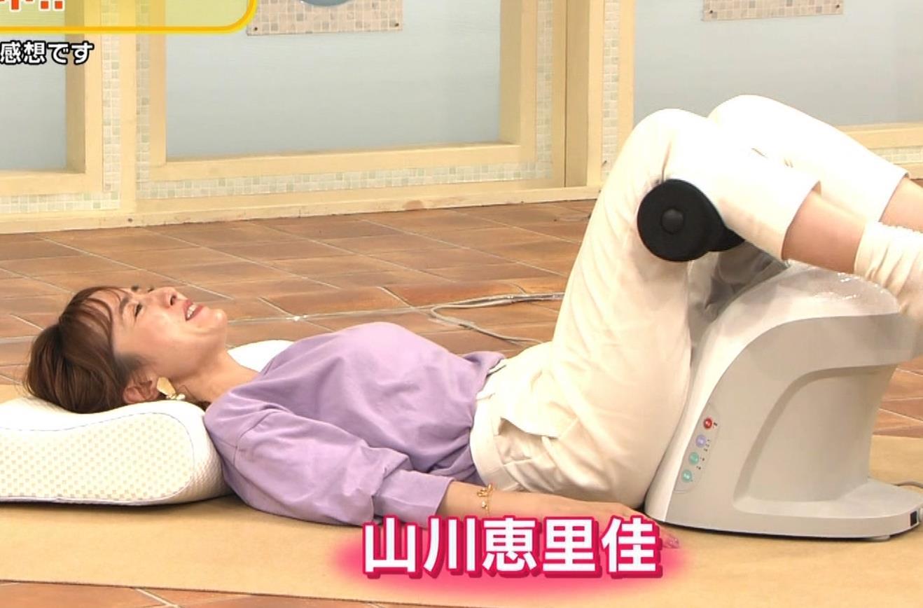山川恵里佳 通販番組で正常位してるキャプ・エロ画像2