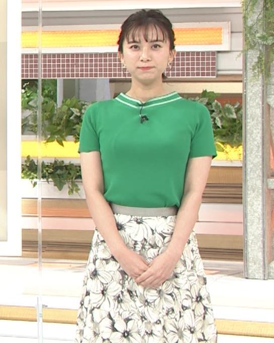 山本雪乃アナ Tシャツおっぱいキャプ・エロ画像