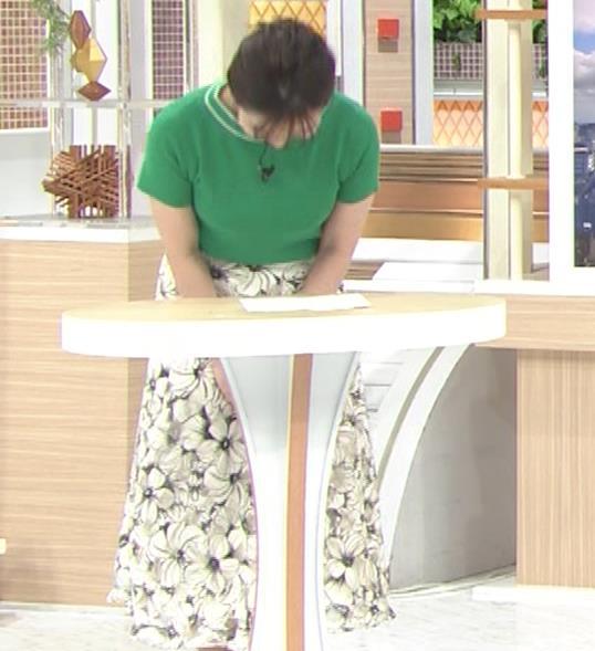 山本雪乃アナ Tシャツおっぱいキャプ・エロ画像11