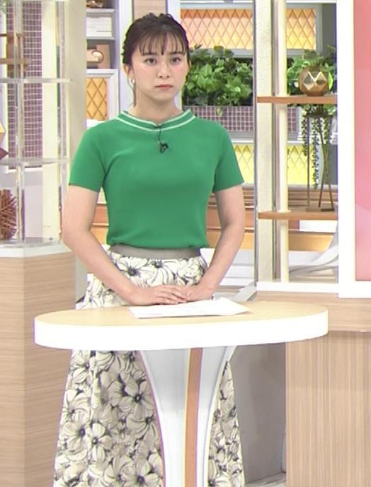山本雪乃アナ Tシャツおっぱいキャプ・エロ画像3