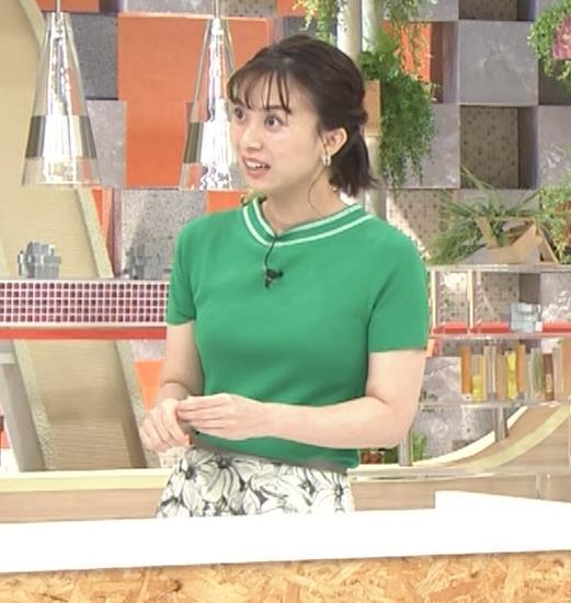 山本雪乃アナ Tシャツおっぱいキャプ・エロ画像4