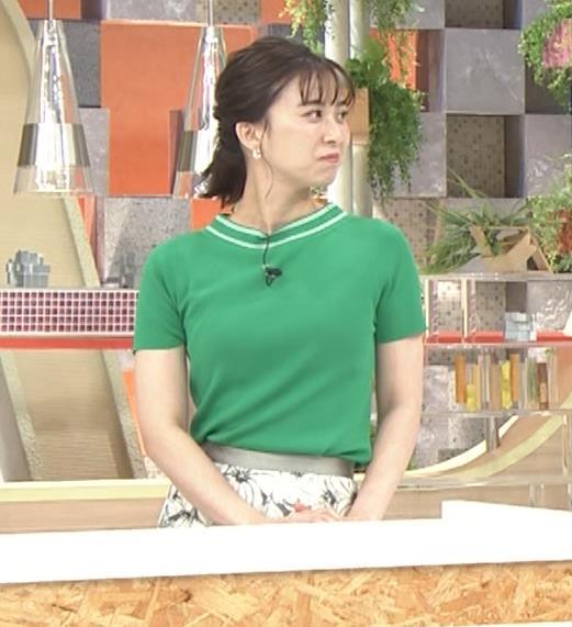 山本雪乃アナ Tシャツおっぱいキャプ・エロ画像5