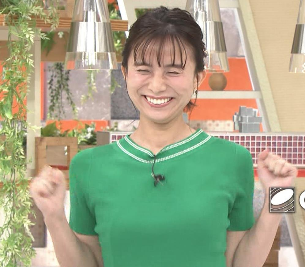 山本雪乃アナ Tシャツおっぱいキャプ・エロ画像7