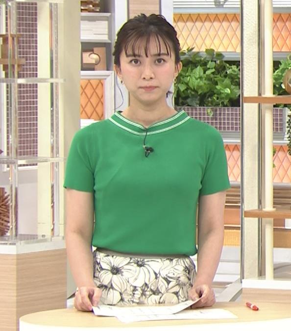 山本雪乃アナ Tシャツおっぱいキャプ・エロ画像8