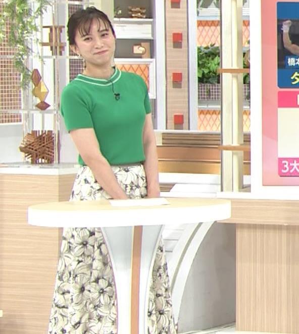 山本雪乃アナ Tシャツおっぱいキャプ・エロ画像9