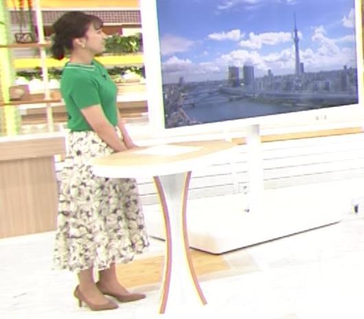 山本雪乃アナ Tシャツおっぱいキャプ・エロ画像10