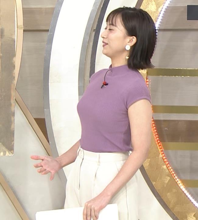 山本雪乃アナ ニット横乳キャプ・エロ画像4