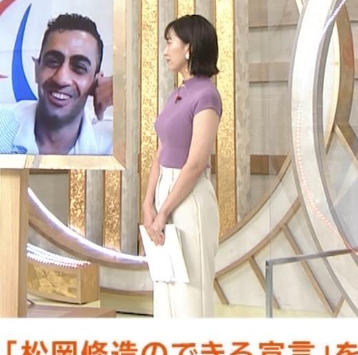 山本雪乃アナ ニット横乳キャプ・エロ画像5