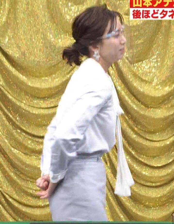 山本雪乃アナ 横乳??キャプ・エロ画像