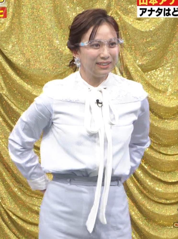 山本雪乃アナ 横乳??キャプ・エロ画像7