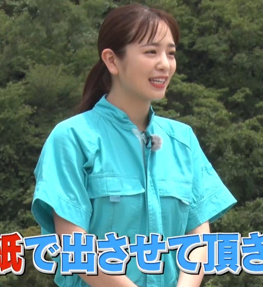 横田真悠 イッテQの新出川ガールのおっぱいがエロいキャプ・エロ画像4