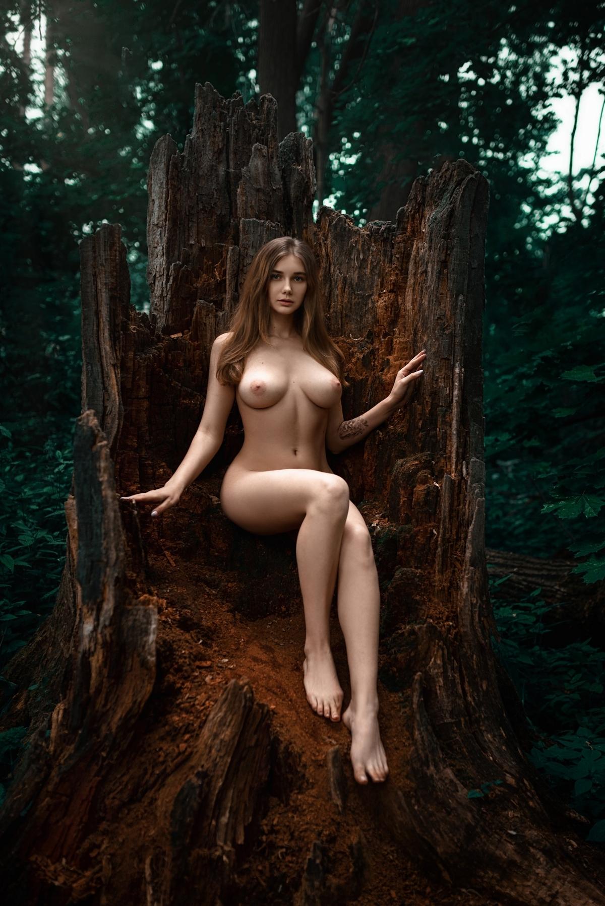 ロシア巨乳美女モデル Natali Tihomirova ヌード画像 7