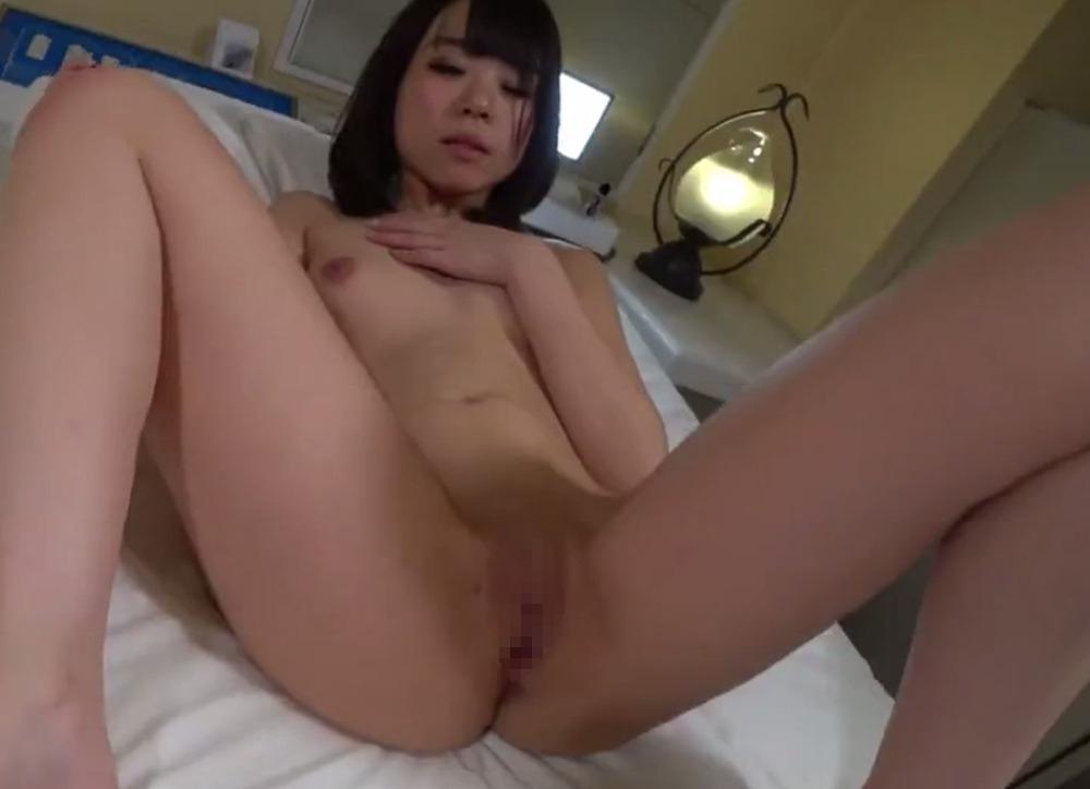 素人美女のM字開脚ヌード画像 4
