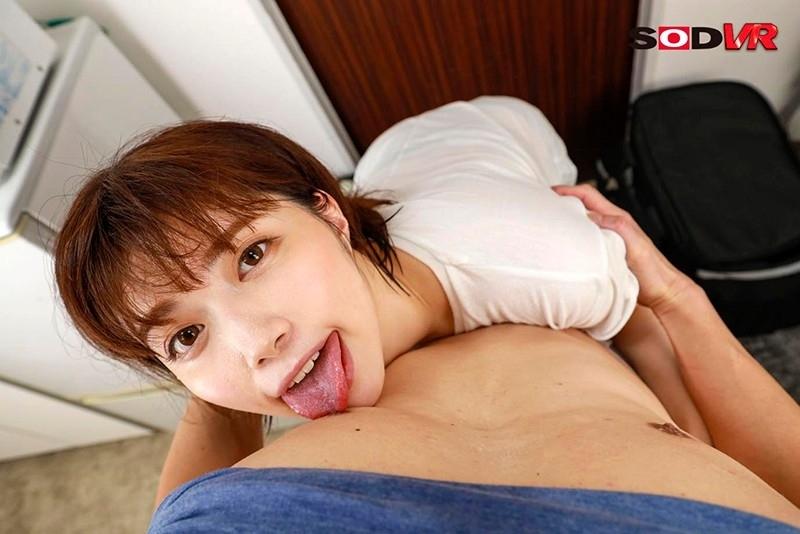 ウー○ーイーツの美人配達員とセックス!? 19