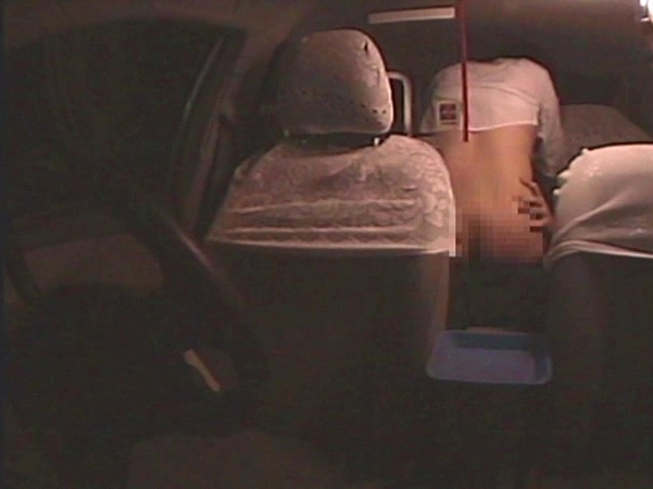 タクシーの車内で行われていた驚愕の性犯罪映像10連発! 9